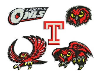 Owls embroidery design - Machine embroidery design