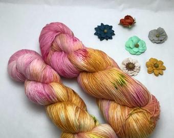 Wild horses -436 yds Alpaca sock yarn