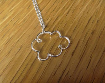 Cloud of autumn: 925 sterling silverr necklace