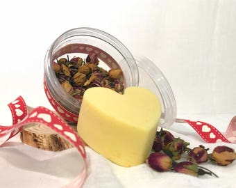 Solid lotion bar, gift for her, moisturizing body bar, natural solid lotion, massage body bar, handmade bar