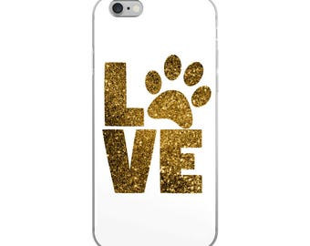 Love dogs iPhone Case - Iphone 7 case - Iphone 8 case - Iphone 7 plus case - Iphone 6 case - Iphone X case