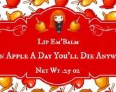 """Lip Gloss """"An Apple a Day"""""""