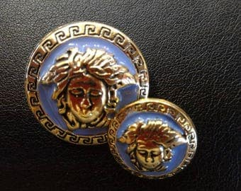 Vintage buttons Versace in small quantities