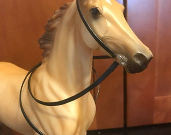 Western Snaffle Bridle for Model Horses