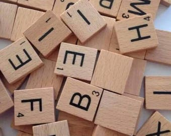 Pick n Mix Scrabble Tiles A-Z and Blanks - Multiples of 25