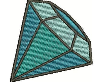 Diamond Jewel - Machine Embroidery Design