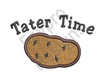 Tater Time - Machine Embroidery Design