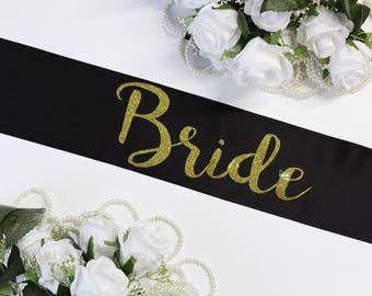 Bride To Be  Plus Size Sash Bachelorette Sash, Bride to Be, Wedding Sash, Customized sash, Bachelorette Paty, Bridal Party Sash, Style M