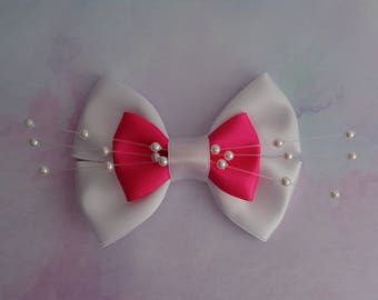 Marie Bow | Marie Inspired Hair Bow | Aristocats Inspired Hair Bow | Disney Inspired Hair Bows