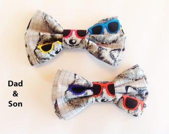 Bow Tie, Mens Bow Tie, Dad and Son Bow Tie, Dog Bow Ties, Matching Dog Bow Tie, Valentines Bow Tie, Dog Bowtie, Bowtie, Boys Bow Tie  DS752