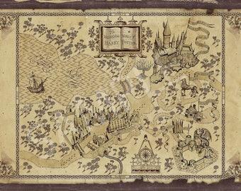 Harry Potter Inspired - Vintage Wizarding World