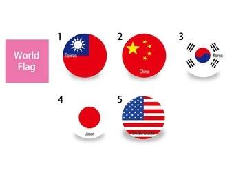 Magnet Opener World Flag Series