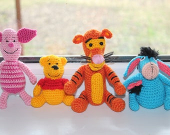 Winnie Pooh and his friends