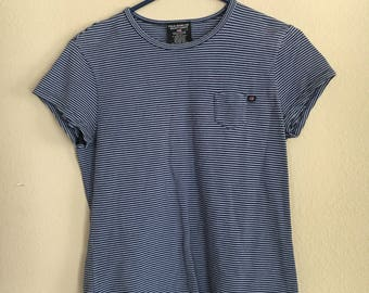 Womens polo jeans vintage T-shirt