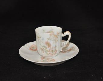 Haviland Limoges Demitasse cup and saucer