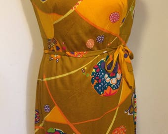 Beautiful original vintage dress from the 70s! 100% cotton