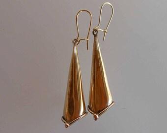 Earrings bronze earrings 0051