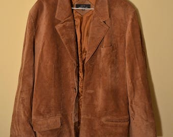 Vintage Brown Leather Jacket