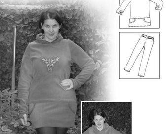 Pattern cozy sweater Helena