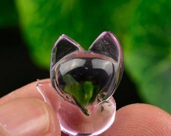 12ct Amethyst Fox Pendant
