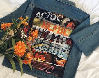 NEW! AC/DC Jean Jacket - Music
