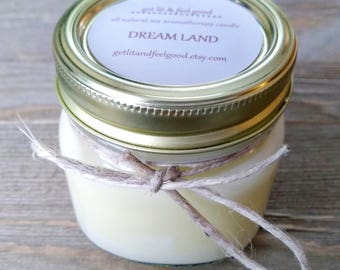 Dream Land Essential Oil Candle