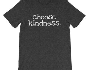 Choose Kindness Encouraging Motivational Choose Kind Anti Bullying School Teacher Principal T-shirt