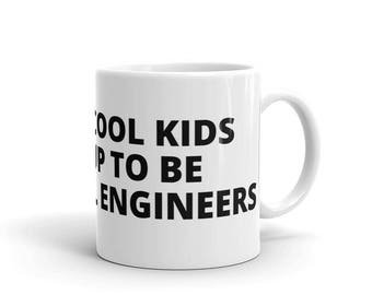 All the Cool Kids Grew Up To Be Industrial Engineers Engineering Career Graduation Birthday Gift Idea Mug