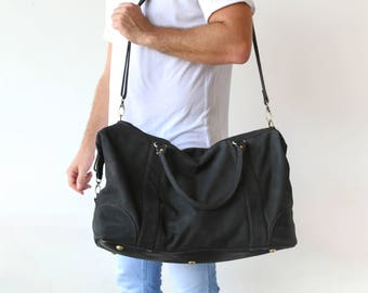 Mens Leather Duffel Bag, Mens Leather Travel Bag, Leather Overnight Bag, Mens Luggage, Large Duffel Bags, Mens Weekend Bag, FREE SHIPPING!