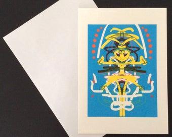 Alien Rorschach Card