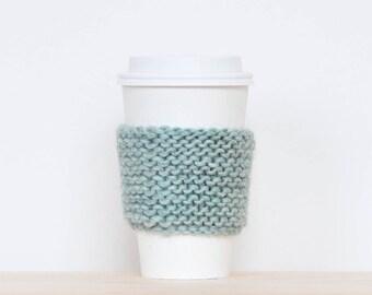 Coffee cozy, knit mug sleeve, coffee sleeve, cup warmer, tea cozy, knit tea cozy, knit coffee cozy, knit cozy, knit coffee mug sleeve