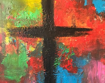 Faith in Full Color - Original Acrylic Painting