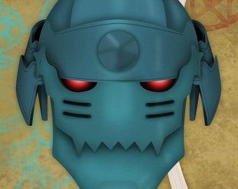 Full Metal Alchemist Alphonse Elric 3D Decoprint