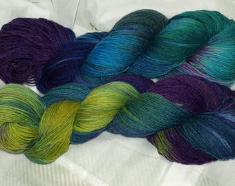 Socks Wool Hand dyed