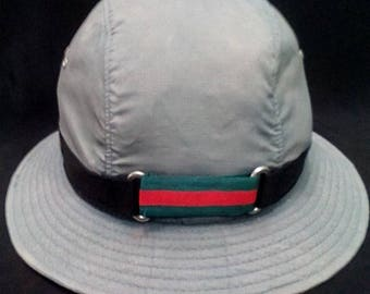 Vintage Gucci Bucket Hat Made In Italy,Gucci handbag, Gucci watch,Gucci shoes, Gucci cap styles, summer styles, swag,rap