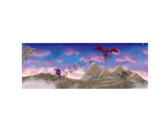 Dragons Bookmark
