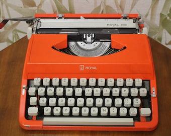Royal 202 Retro portable typewriter