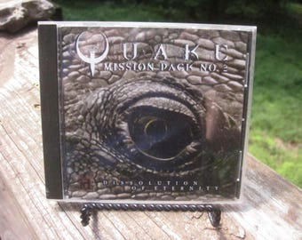 Vintage QUAKE and QUAKE 2 Computer Games 1996/1997