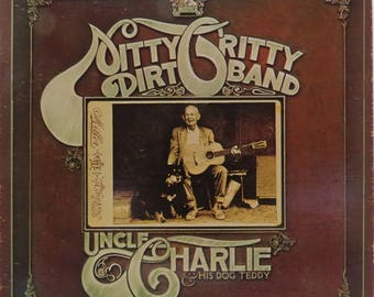 Nitty Gritty Dirt Band Framed Vinyl - Uncle Charlie & His Dog Teddy 1970
