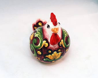 Ceramic Big Chicken Decoration
