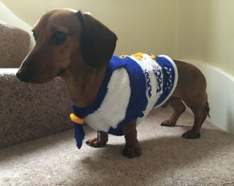 Sailor Dog Sweater