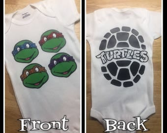 Heroes in a Half Shell Ninja Turtles Onesie