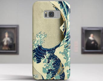 "Katsushika Hokusai ""The Great Wave off Kanagawa"" Samsung Galaxy S8 Case Google Pixel 2 Case LG G6 case Galaxy A5 2017 Case and more."