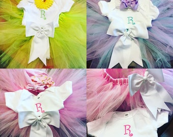 Tutu and onsie or t-shirt :)