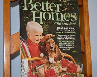 Better Homes and Garden July 1962