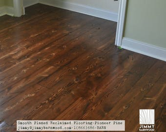 Ready to Install Reclaimed Wood Floor, Pine Floor, Smooth, Barnwood Flooring, Reclaimed Wood, Rustic Pine Flooring, Barn Flooring
