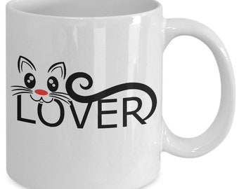 Cat Lover Mug - Gift for Cat Lover