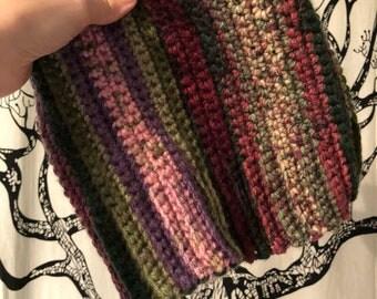 "Gemstone"" Handmade Crochet Slouch Beanie"