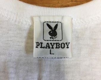 Vintage Playboy Undershirt