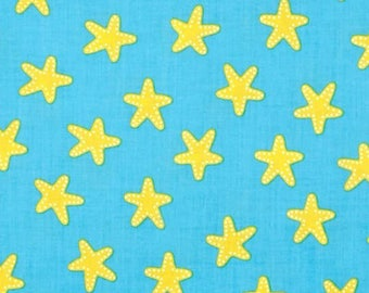 FREE GIFT with Purchase - Robert Kaufman Sea and Sun/Ann Kelle/Starfish Pacific/Cotton/Fabric/Sewing/Quilting